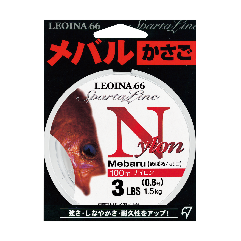 <span>レオイナ66 / めばる / カサゴ<br>【ナイロン / 平行巻】</span>