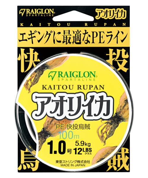 <span>KAITOU RUPAN アオリイカ PE<br>【PE】</span>
